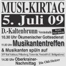10. Bergler Musikirtag 05.07.2009