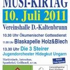 Bergler Musikirtag 10.07.2011