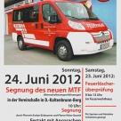 Frühschoppen Fahrzeugweihe FFW Deutsch Kaltenbrunn 24.06.2012
