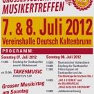 Musikirtag 2012 - 85jähriges Bestandsjubiläum Tag 2  08.07.2012