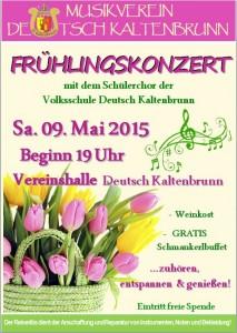 Voranzeige Frühlingskonzert