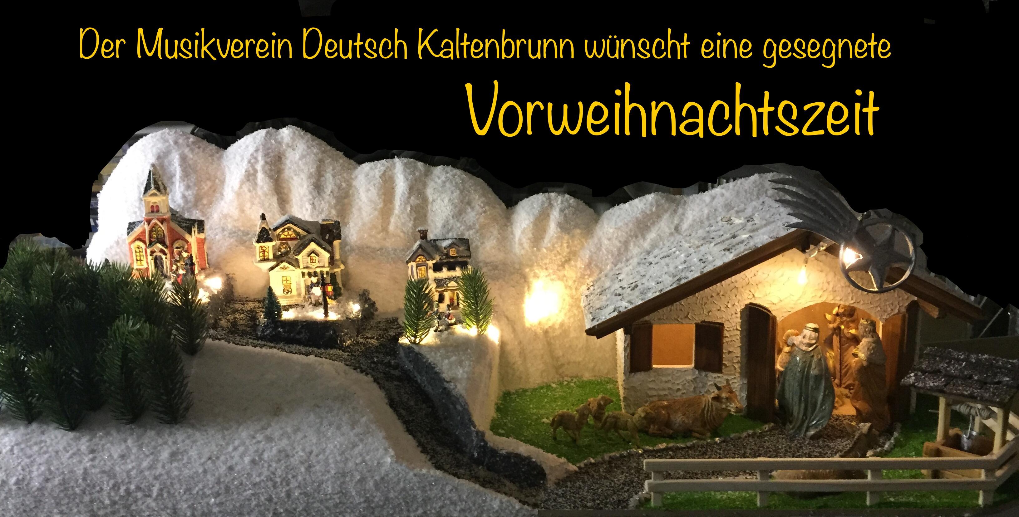 Weihnachtsklänge und Adventzauber – Musikverein Deutsch Kaltenbrunn